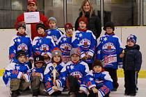 Malí hokejisté HC Rebel z prvních tříd mají za sebou turnaj v Jaroměři. Za účasti dvanácti mužstev z celé České republiky nakonec obsadili druhé místo v malém finále, což v celkovém účtování znamenalo osmou pozici.