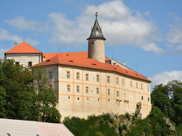 Hrad Ledeč nad Sázavou.