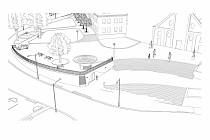 Nová podoba náměstí ve Světlé nad Sázavou.