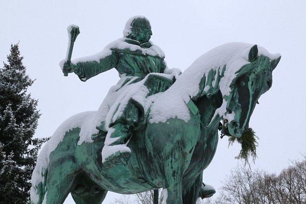 """Žižkova koně kdosi """"nakrmil""""."""