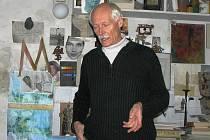 Nejvíc času tráví Petr Máša ve své dílně v Přibyslavi.