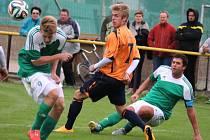 Výborný výkon v derby se Žďárem předvedl především Radek Kolouch (vpravo). Ždírecký kapitán se přičinil o dva góly a třetí přidal sám.