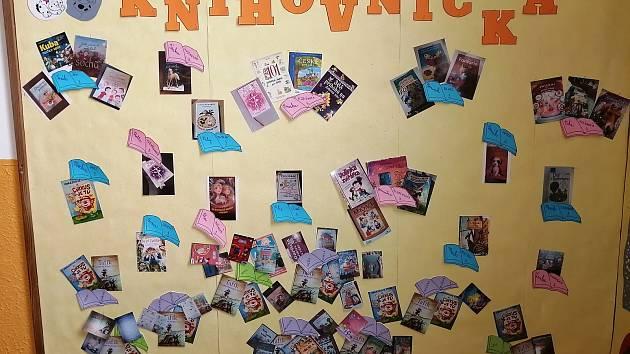 Projekt Knihovnička na Základní škole v Herálci