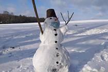 Ze zimní procházky v Havlíčkově Brodu. Foto: Dana Sošková