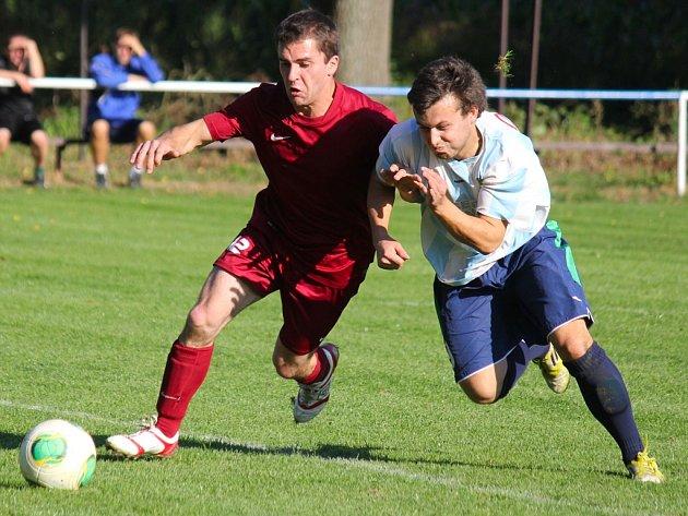 Matný výkon. Ten podali fotbalisté Borové na hřišti v Lučici, se kterou prohráli potřetí v řadě a nevstřelili jí ani gól.