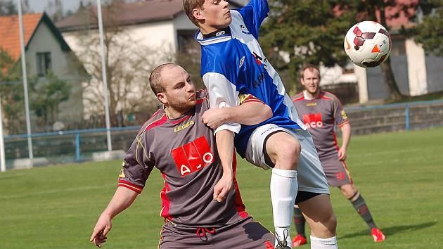 Fotbalisté Humpolce potvrdili v Žirovnici roli favorita a zvítězili.