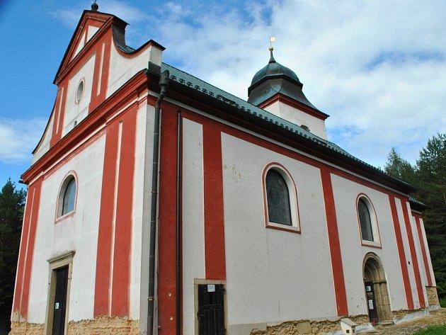 Kostel sv. Víta v Zahrádce