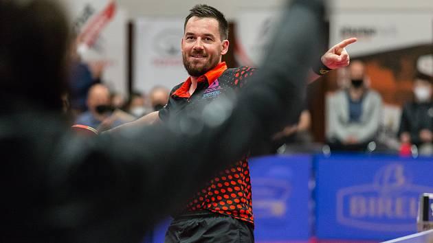 Tomáš Tregler se ve finálové sérii postavil za stůl čtyřikrát a ve všech případech vyhrál.