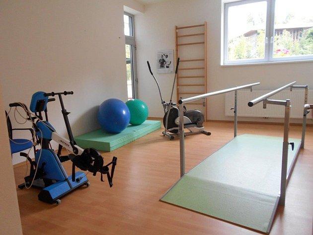 V Petrklíči mají plně vybavenou tělocvičnu.