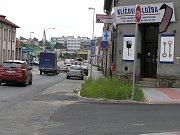 Humpolecká ulice v Havlíčkově Brodě je pro řidiče kritickým místem.