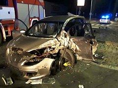 Nehoda v Chotěboři.