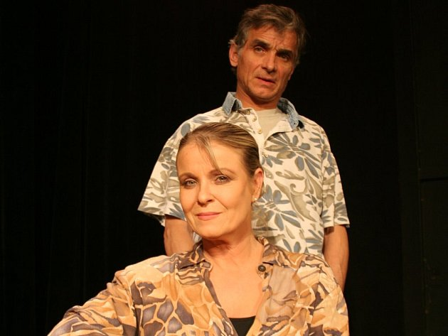 Chantal Poullain a Oldřich Kaiser se společně představí v divadelním představení Šest tanečních hodin v šesti týdnech.