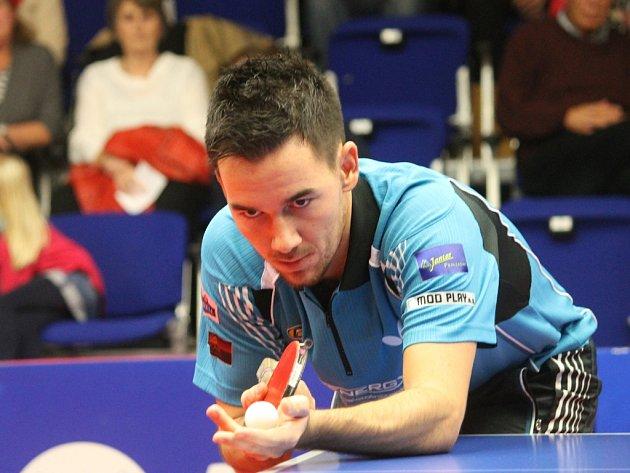 Stoprocentní byl v zápase s Libercem brodský hráč Tomáš Tregler, který porazil Valentu a Medeka.