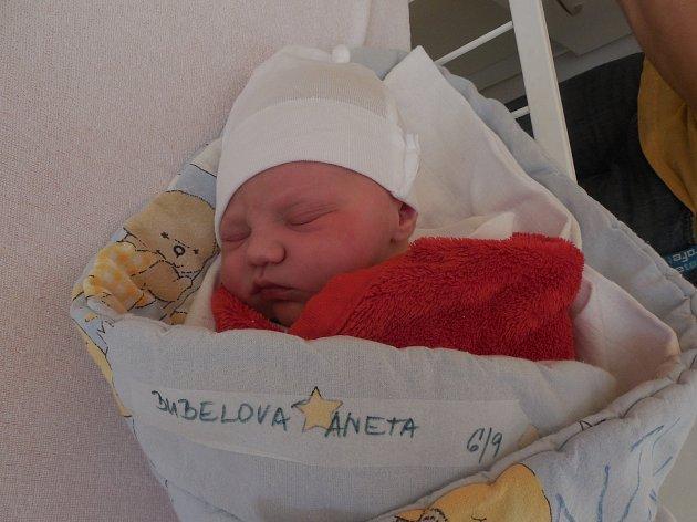 Aneta Bubelová, Havlíčkův Brod, 6. 9. 2017, 3560 g