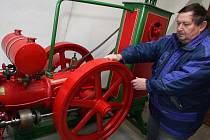Jedinečná kolekce stabilních průmyslových a zemědělských strojů se nachází v našem ústředním hasičském muzeu na zámku v Přibyslavi.