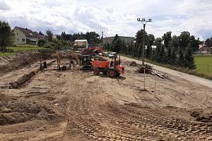 Stavba nové školky v Borové začala.