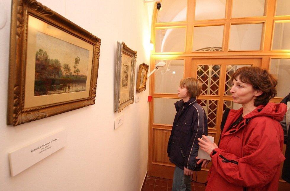 Výstava krajinomaleb Antonína Waldhausera v havlíčkobrodské galerii zcela souzní s časem adventu a nadcházejících Vánoc.