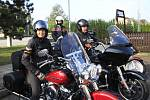 Čtyřdenní cesta motorkářů začala v Havlíčkově Brodě