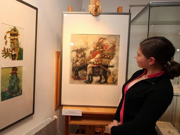 Práce Karla Franty budou v havlíčkobrodské Galerii výtvarného umění k vidění do 10. července.