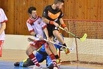 Záchranu si zařídili havlíčkobrodští florbalisté v utkáních s Bystřicí nad Pernštejnem. Sérii hranou na tři vítězná utkání vyhráli 3:2.