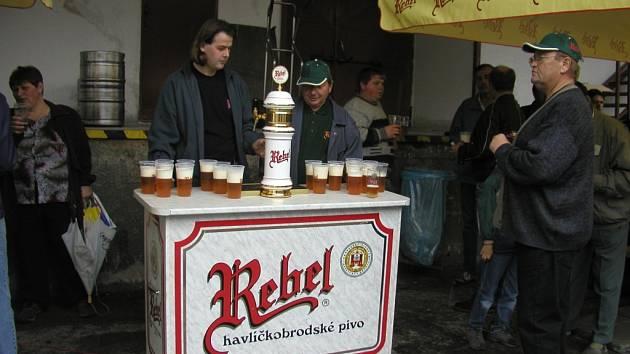 Pivo Rebel se těší oblibě zákazníků