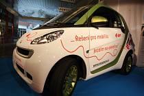 Elektromobil Smart. Ilustrační foto: