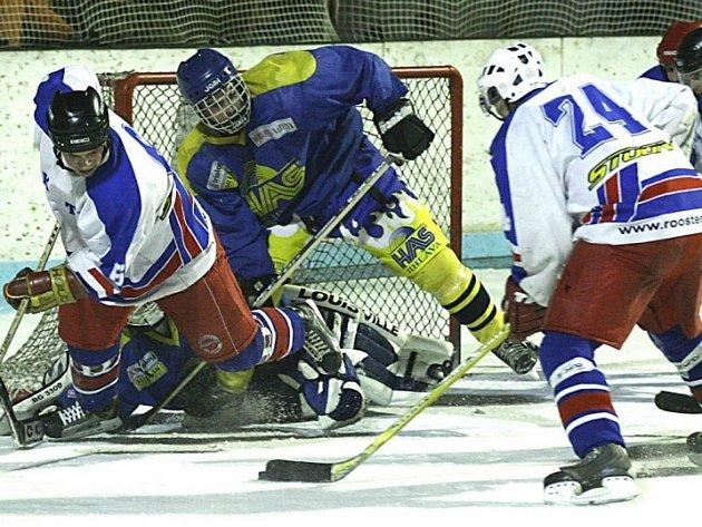 Výjimka. Vysočina jako jediná nebude mít krajský hokejový přebor. Většina týmů raději přestoupila do okolních regionálních soutěží, a například HAS Jihlava tak bude muset vzít zavděk pouze okresním přeborem.