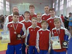 Brodská výprava získala na turnaji v Ukrajině čtyři medaile.