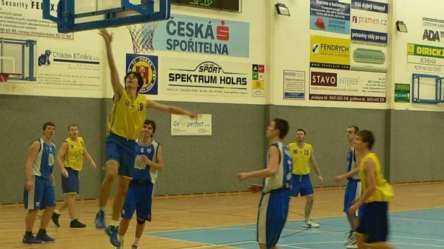 Basketbalisté brodské Jiskry hrají o domáci Final four.