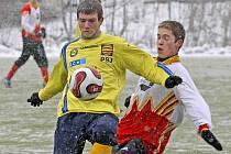 Trenér ždíreckých fotbalistů Marek Štukhejl byl v zápase s jihlavskou juniorkou potěšen s hrou svého celku.