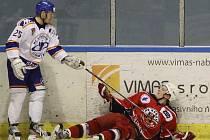 Důležitý zápas v Litoměřicích brodští hokejisté nezvládli, prohráli 0:1.