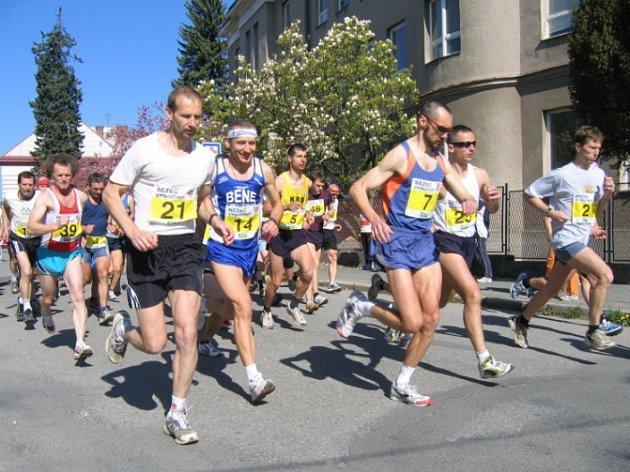 Na věku nezáleží. Na start chotěbořského běžeckého poháru se postavili běžci všech kategorií, od nejmenších až po ty zdatné.