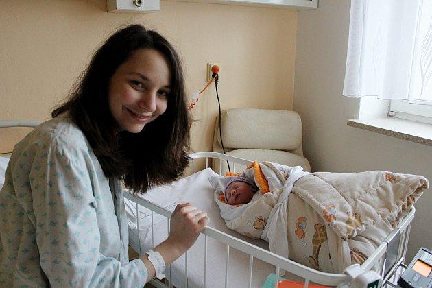 Prvním letošním miminkem vhavlíčkobrodské porodnici je Stela.