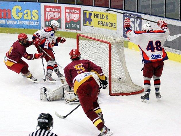 Nájezdy se stávají pravidlem v derby zápasech brodských juniorů. Tentokrát se jely v Třebíči.