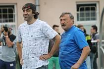 Jakub Kohák a Antonín Panenka.