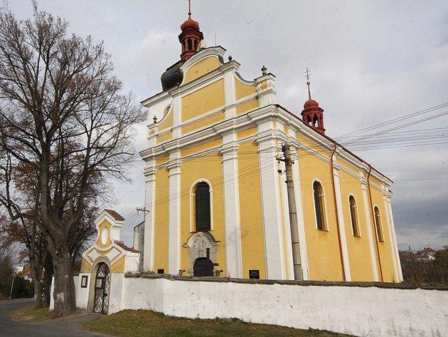 Farní kostel sv. Václava ve Vilémově.