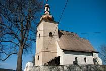 Kostel svaté Markéty v Loukově.