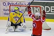 Třebíči proti Ústí pomohly dvě šťastné branky z úvodu utkání. Nakonec se Bílé hvězdy trefily pětkrát.