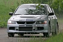 11. ročník Rallye Posázaví vyhrál Tomáš Kabát a Jiří Šimek s Mitsubishi Lancer EVO IX.