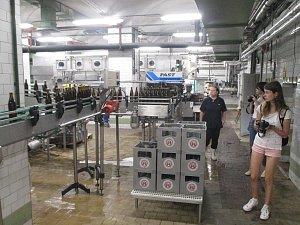 Úterní den přinesl studentům Letní žurnalistické školy návštěvu pivovaru Rebel a redakce Havlíčkobrodského deníku.