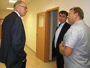 Ministr financí Ivan Pilný (vlevo) by chtěl vyřešit po volbách problémy pracovního trhu zřízením nového ministerstva.