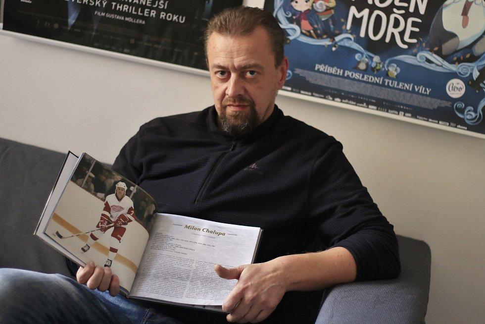 Ladislav Krov, jeden z autorů knihy.