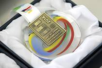 Medaile pro vysočinskou olympiádu.