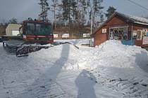 Lyžařský areál Kadlečák.