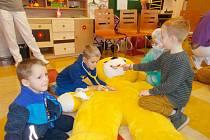 Speciální program nemocnice je věnován první pomoci pro děti.