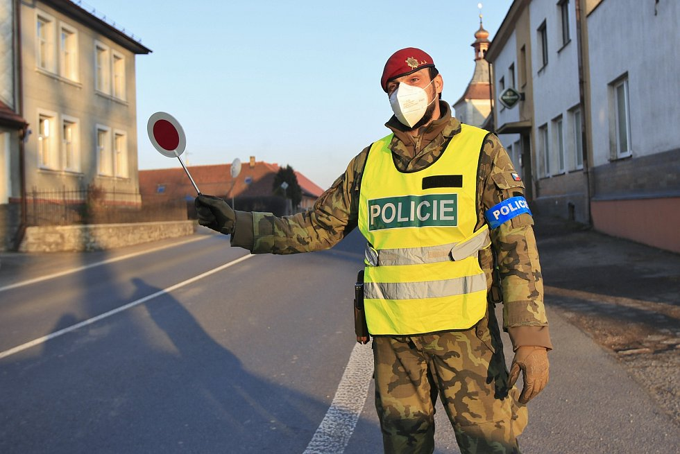 Policejní kontroly na Vysočině.