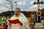 V Ovesné Lhotě zrekonstruovali takzvaná Boží muka a v sobotu 8. září je slavnostně vysvětil farář