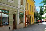 Svatovojtěšská ulice v Havlíčkově Brodě se proměnila v zónu jen pro pěší.