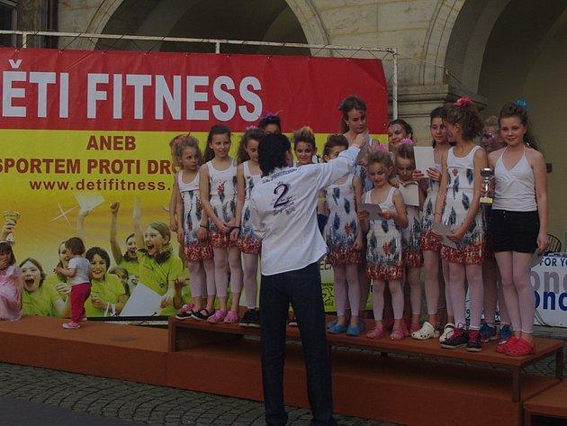 Děti fitness ze Štáflovky.