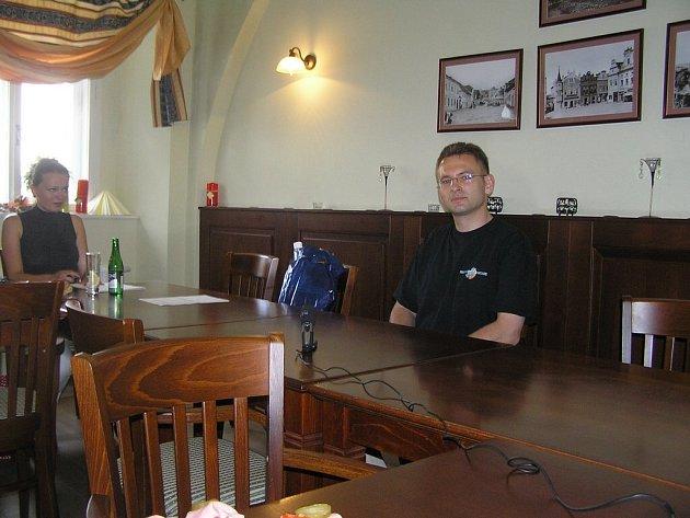 Hlavní organizátor Festivalu fantazie v Chotěboři Václav Pravda.